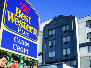Exterior view of Cairn Croft Best Western Plus Hotel.