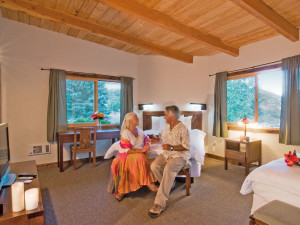 Guest room at Mt. Princeton Hot Springs Resort.