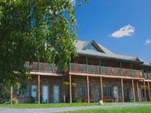 Resort view at Seneca Springs Resort.