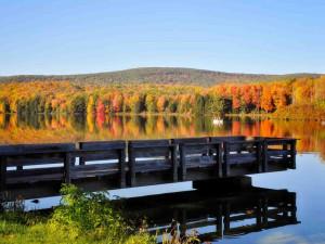 Lake near Penn Wells Lodge.