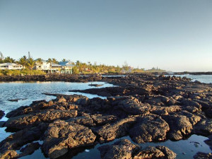 Exterior view of Big Island Vacation Rentals.
