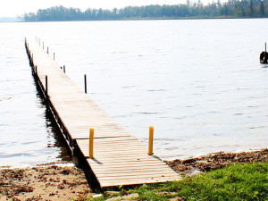 Dock at Whaley's Resort & Campground.