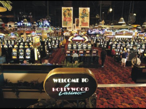 Casino slots at Hollywood Casino Tunica.