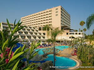 Exterior view of St Raphael Resort.