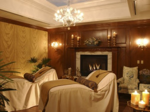 Spa room at The Broadmoor.