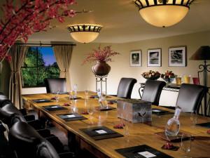 Meeting room at La Posada de Santa Fe Resort & Spa.