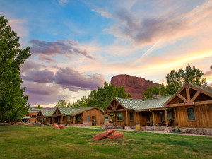 Exterior view of Sorrel River Ranch Resort & Spa.