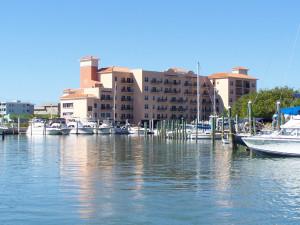 Exterior view of Madeira Bay Resort.