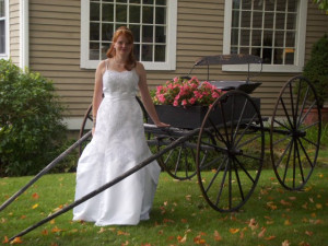 Bride at The Inn at Willow Pond.