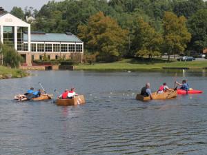 Kayaking at Boar's Head Resort.