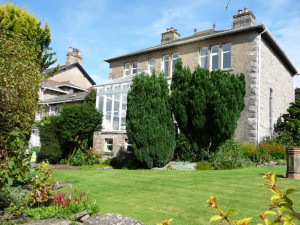 Exterior view of Riverside Lodge-Ingleton.