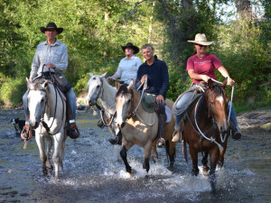 Horseback riding at Rocking Z Ranch
