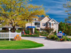 Exterior view of Newport Resort.