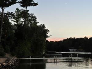 Lake view at Cliffside Resort.