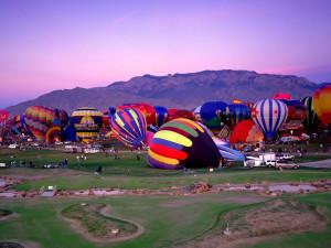 Balloon Fiesta at Nativo Lodge.
