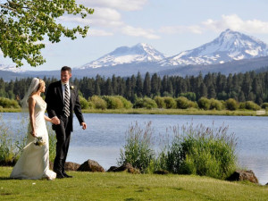 Wedding at Black Butte Ranch.