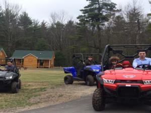 ATV at Catskill Mountains Resort.