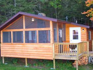 Exterior Cabin View at Pehrson Lodge Resort