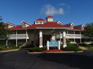 Exterior view at Delavan Lake Resort.