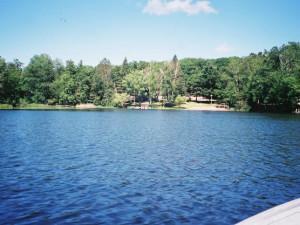 Lake view at Golden Rule Resort.