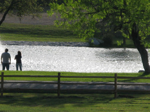 Walk Along the River at Stablewood Springs Resort