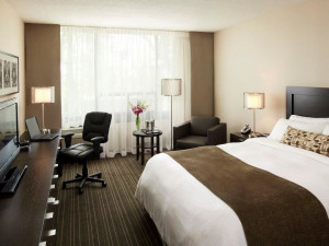 Guest Room at the Delta Toronto Airport West