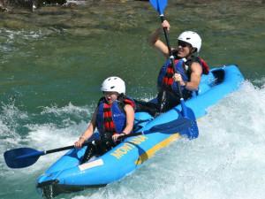Rafting at Glacier Guides/Montana Raft Company.