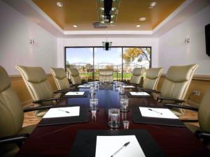 Conference room at La Torretta Lake Resort.