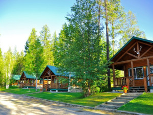 These are our 1 bedroom cabins located only 1/2 mile from Glacier National Park