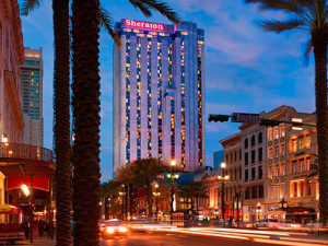 Hotel View at Sheraton New Orleans Hotel