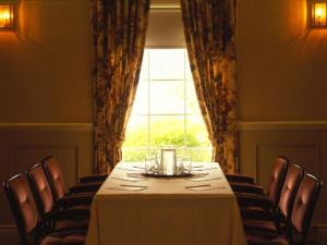 Meeting room at Sir Sam's Inn.