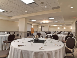 Banquet room at Solara Resort & Spa.