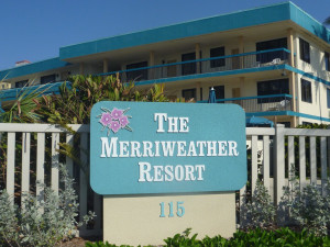 Exterior view of Merriweather Resort.