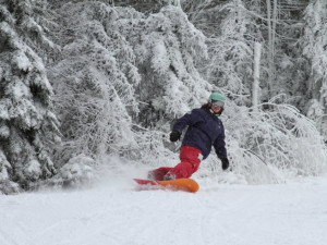 Snowboarding near Discounted Condominium Rentals.