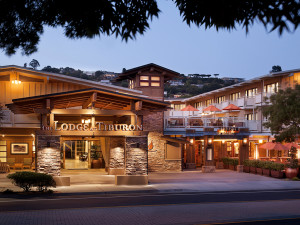 Exterior view of The Lodge at Tiburon.