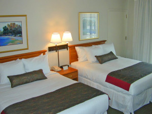 Two Queen Room at Olympia Resort.