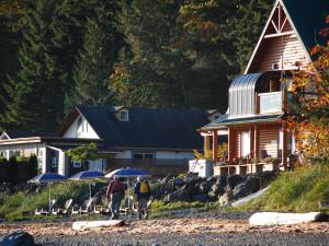 Fishing at Shady Shores Beach Resort.