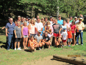 Family reunions at MarVal Resort.