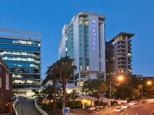 Exterior view of Novotel Brisbane.