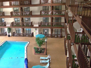 Indoor Swimming Pool at Hotel 1620 at Plymouth Harbor