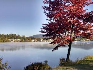 Lake near The Pines Inn of Lake Placid.