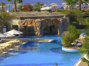 Exterior view of Sharm El Sheikh Marriot Beach Resort.