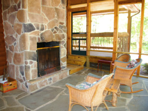 Cottage interior at Berkeley Springs Cottage Rentals