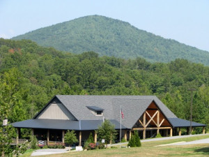 Exterior view of Copperhead Lodge.