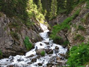 Stream at Bear Paw Lodge.