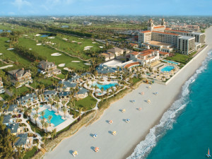 Shoreline at The Breakers Palm Beach.