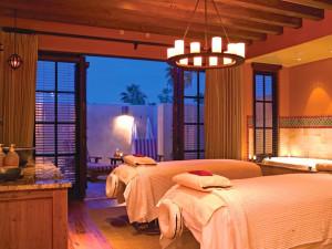 Massage room at The Wigwam Resort.