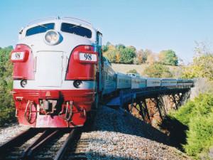 Branson Scenic Railway near Branson Gazebo Inn.