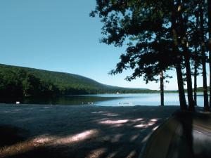 Lake at Eagle Rock Resort