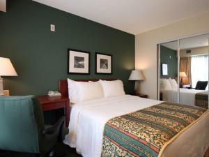 Guest Room at the Residence Inn Scranton